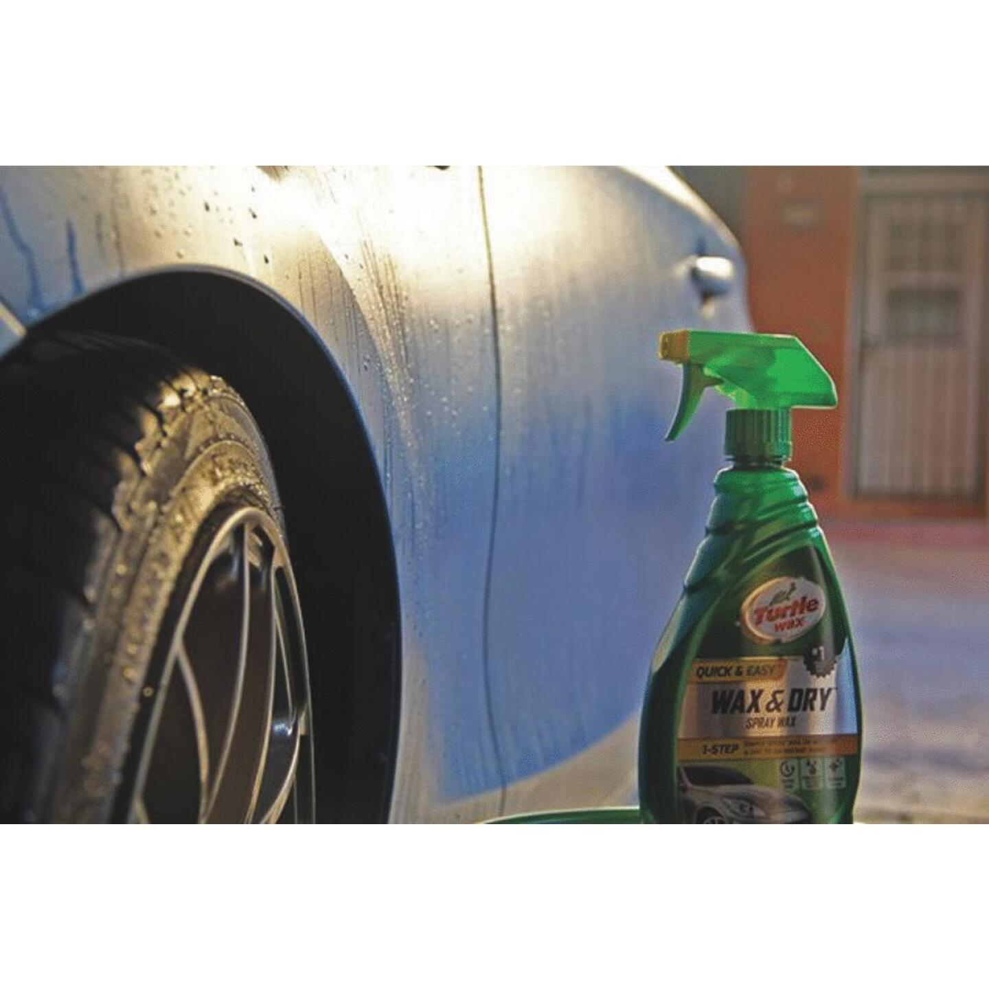 Turtle Wax Wax & Dry 26 oz Trigger Spray Spray Car Wax Image 2
