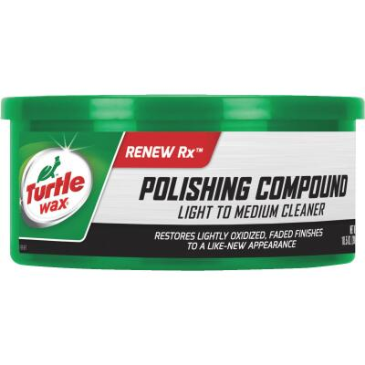 Turtle Wax RENEW Rx  10.5 oz Paste White Polishing Compound