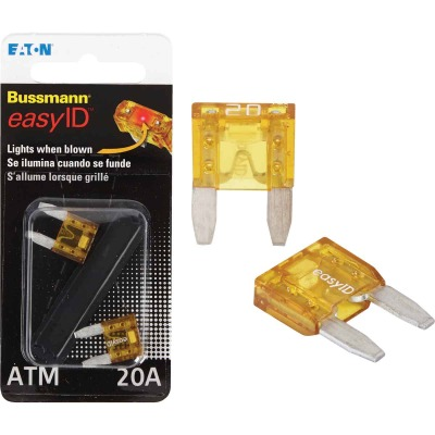 Bussmann 02-Amp 32-Volt ATM Blade Automotive Fuse (2-Pack)