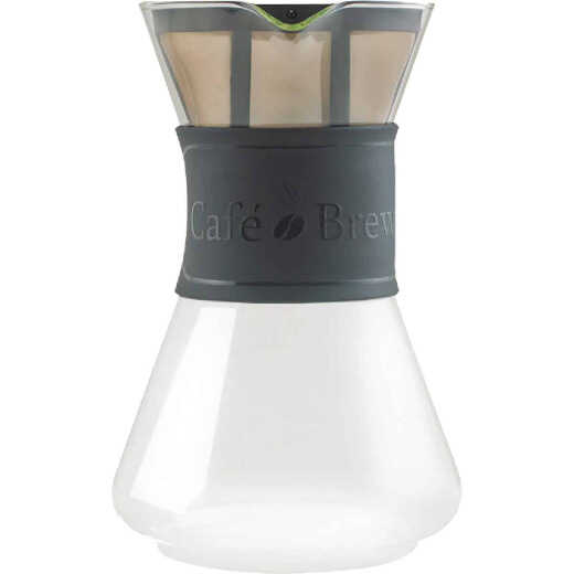 Medelco Cafe Brew 8 Cup Glass Pour-Over Coffee Maker