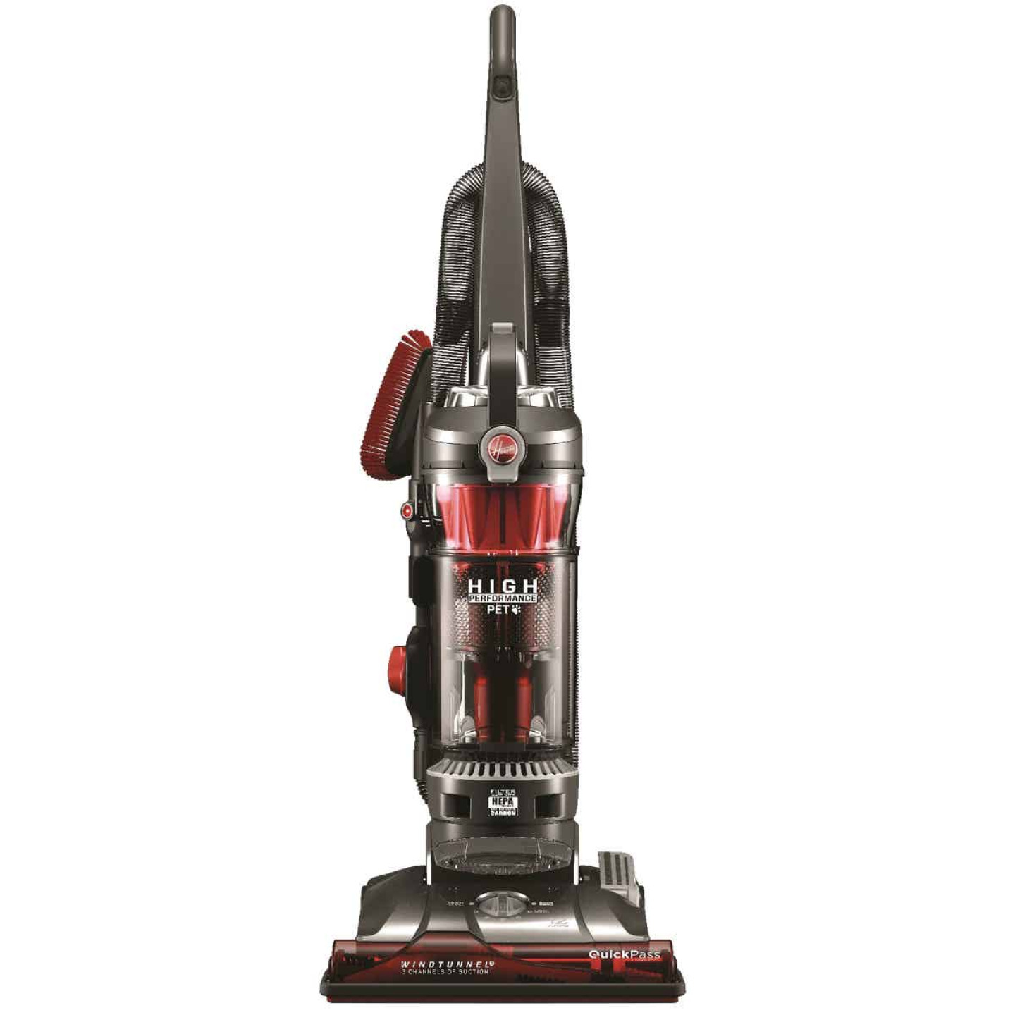 Hoover WindTunnel 3 Bagless High Performance Pet Upright Vacuum Cleaner Image 1