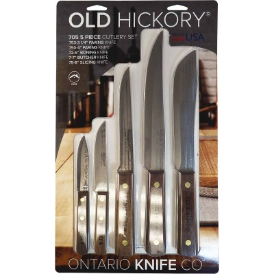Old Hickory Cutlery Knife Set (5-Piece)