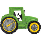 Taylor SpringField 14 In. x 9.5 In. Green Tractor Indoor & Outdoor Thermometer Image 1