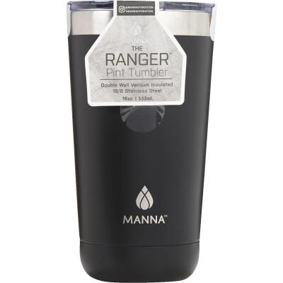 Manna Ranger 18 Oz. Onyx Black Insulated Tumbler
