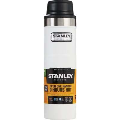 Stanley 20 Oz. Polar White Trigger Action Insulated Tumbler