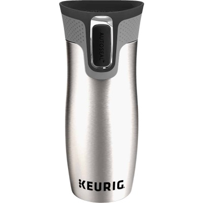 Keurig 14 Oz. Silver Stainless Steel Insulated Tumbler