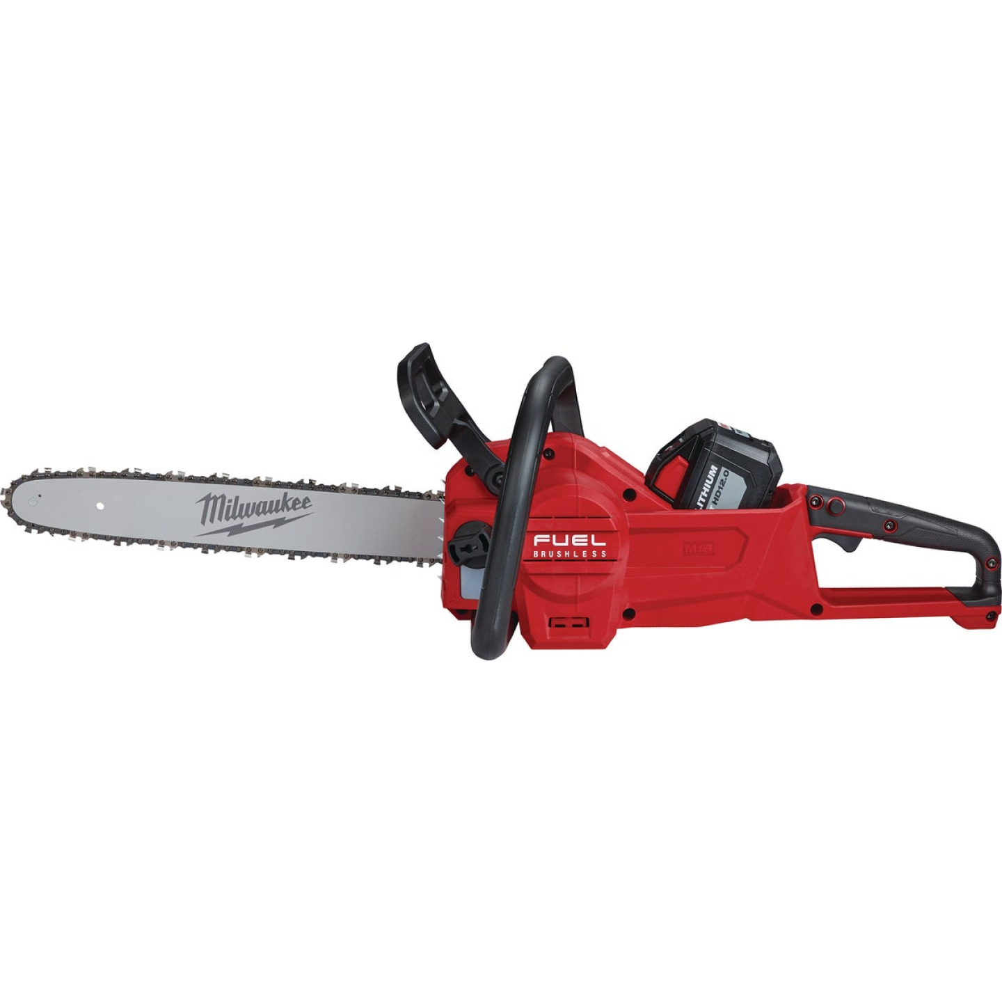 Milwaukee M18 FUEL 16 In. 18V Lithium Ion Cordless Chainsaw Kit Image 5