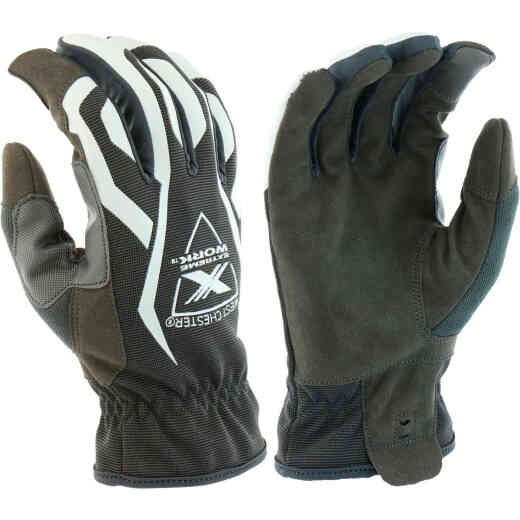 West Chester Protective Gear Extreme Work MultiPurpX Men's Large Synthetic Leather Work Glove