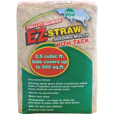 EZ Straw 2.5 Cu. Ft. Straw Seeding Mulch