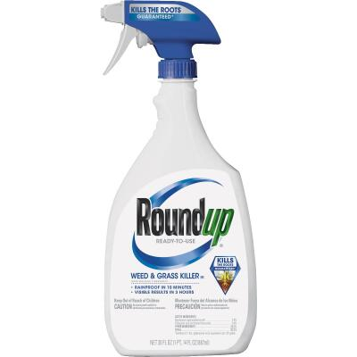 Roundup 30 Oz. Ready To Use Trigger Spray Weed & Grass Killer III