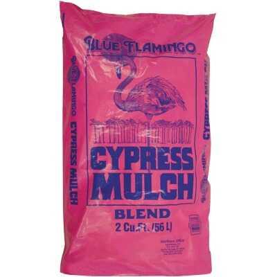 Blue Flamingo 2 Cu. Ft. Tan Cypress Mulch