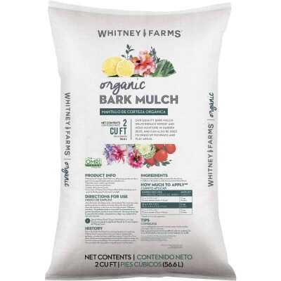 Whitney Farms 2 Cu. Ft. Brown Douglas Fir Bark Mulch