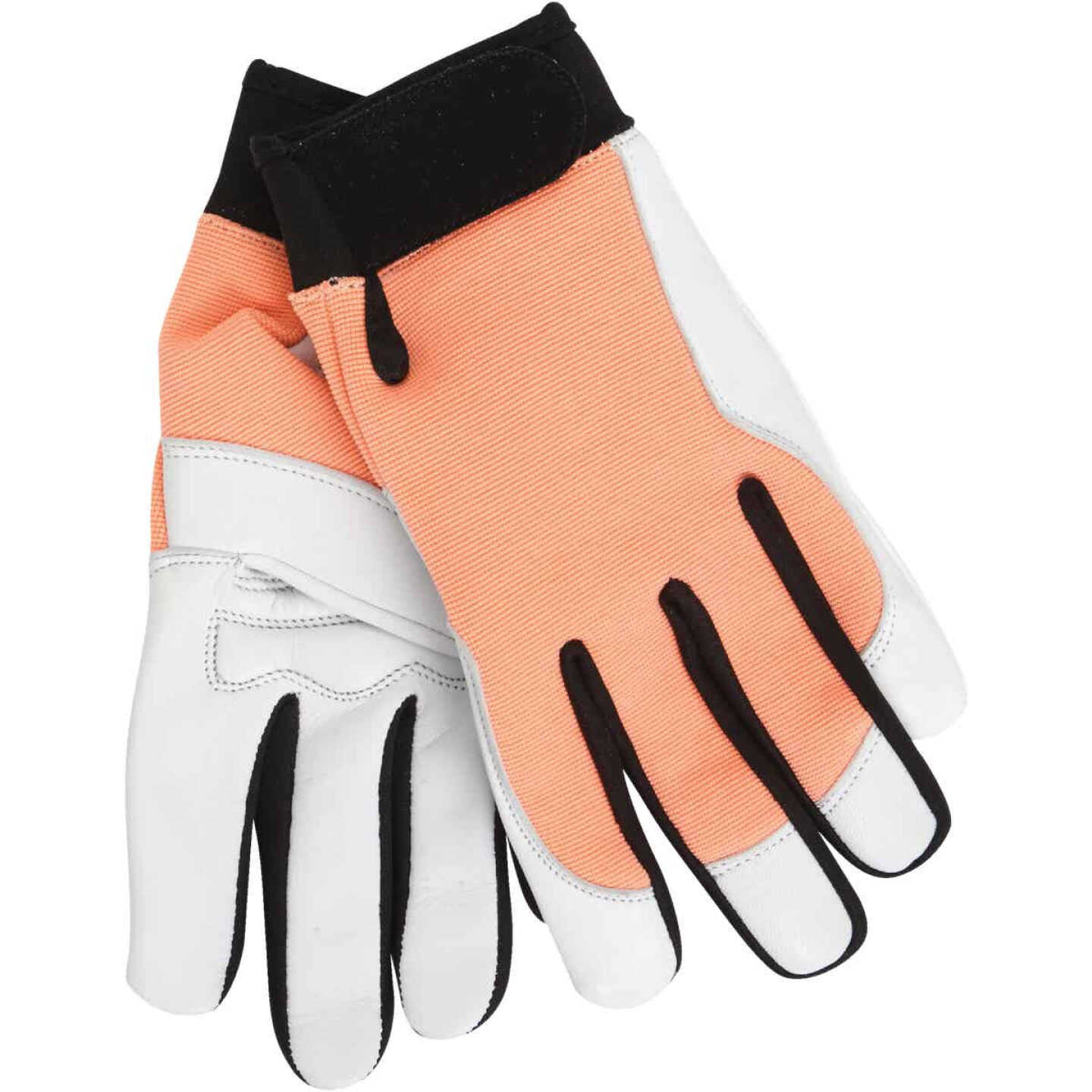 Midwest Gloves & Gear Women's Small Goatskin Leather Work Glove Image 1