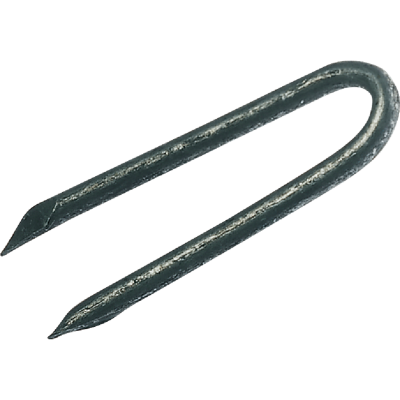 Grip-Rite 1-1/2 In. 9 ga Hot Galvanized Fence Staple (3600 Ct., 50 Lb.)
