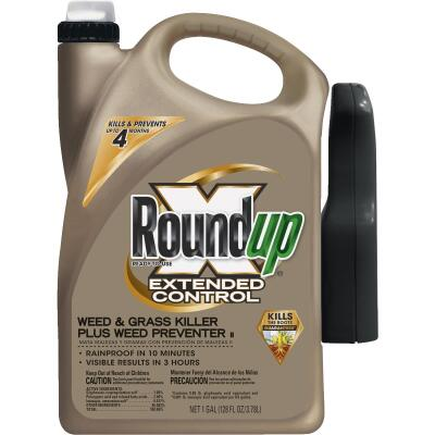 Roundup Extended Control 1 Gal. Ready To Use Wand Sprayer Weed & Grass Killer Plus Weed Preventer II