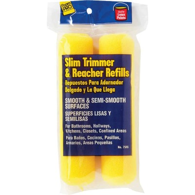 FoamPro Slim Trimmer 6 In. Mini Foam Roller Cover (2-Pack)