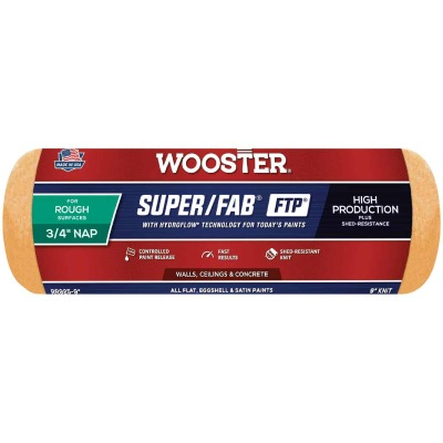 Wooster Super/Fab FTP 9 In. x 3/4 In. Knit Fabric Roller Cover