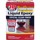 J-B Weld Wood Restore 32 Oz. 2-Part Premium Liquid Epoxy Image 1