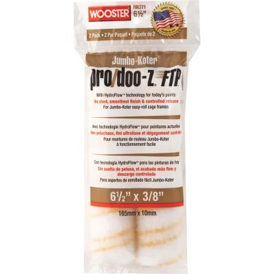 Wooster Jumbo-Koter Pro/Doo-Z FTP 6-1/2 In. x 3/8 In. Mini Woven Fabric Roller Cover (2 Pack)