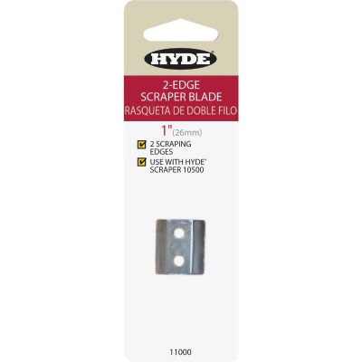 Hyde 1 In. 2-Edge Replacement Scraper Blade