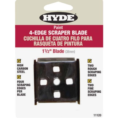 Hyde 1-1/2 In. 4-Edge Replacement Scraper Blade