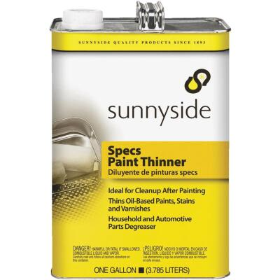 Sunnyside 1 Gallon Specs Paint Thinner, Metal Can