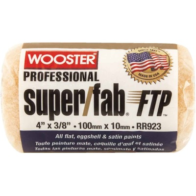 Wooster Super/Fab FTP 4 In. x 3/8 In. Knit Fabric Roller Cover
