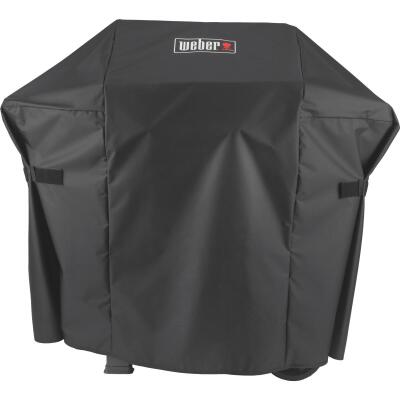 Weber Spirit II 48 In. 2-Burner Black Polyester Gas Grill Cover