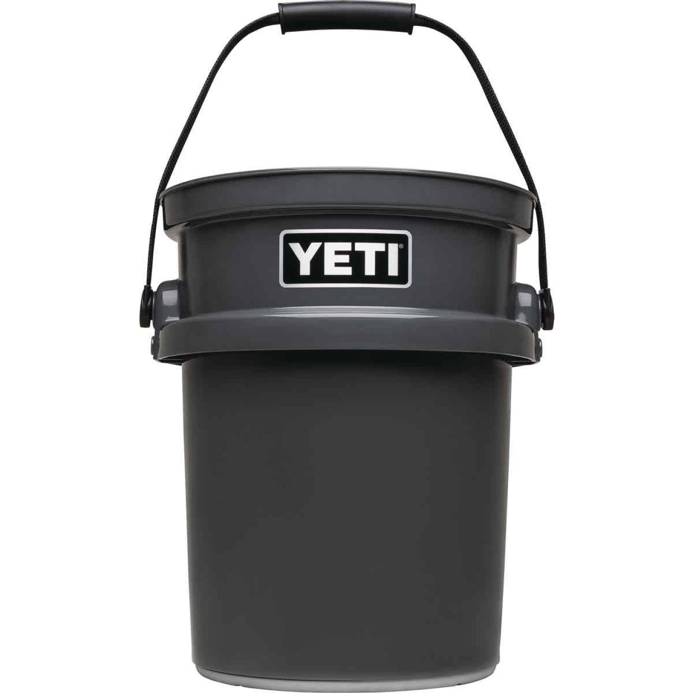 Yeti LoadOut 5 Gal. Charcoal Bucket Image 1