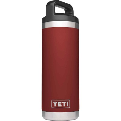 Yeti Rambler 18 Oz. Brick Red Stainless Steel Insulated Vacuum Bottle