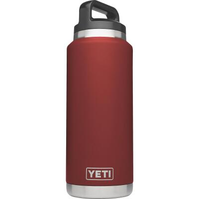 Yeti Rambler 36 Oz. Brick Red Stainless Steel Insulated Vacuum Bottle