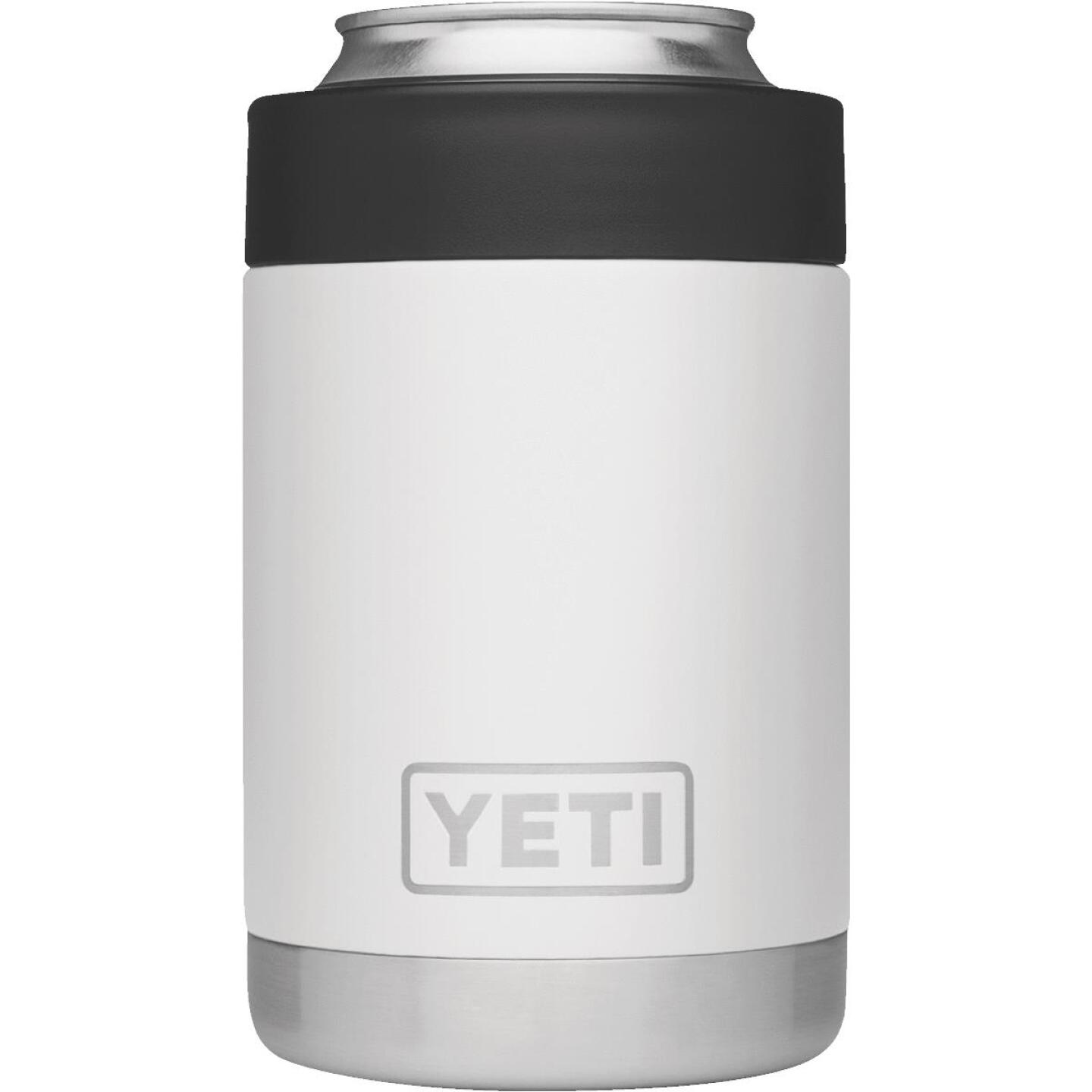 Yeti Rambler Colster 12 Oz. White Stainless Steel Insulated Drink Holder Image 1
