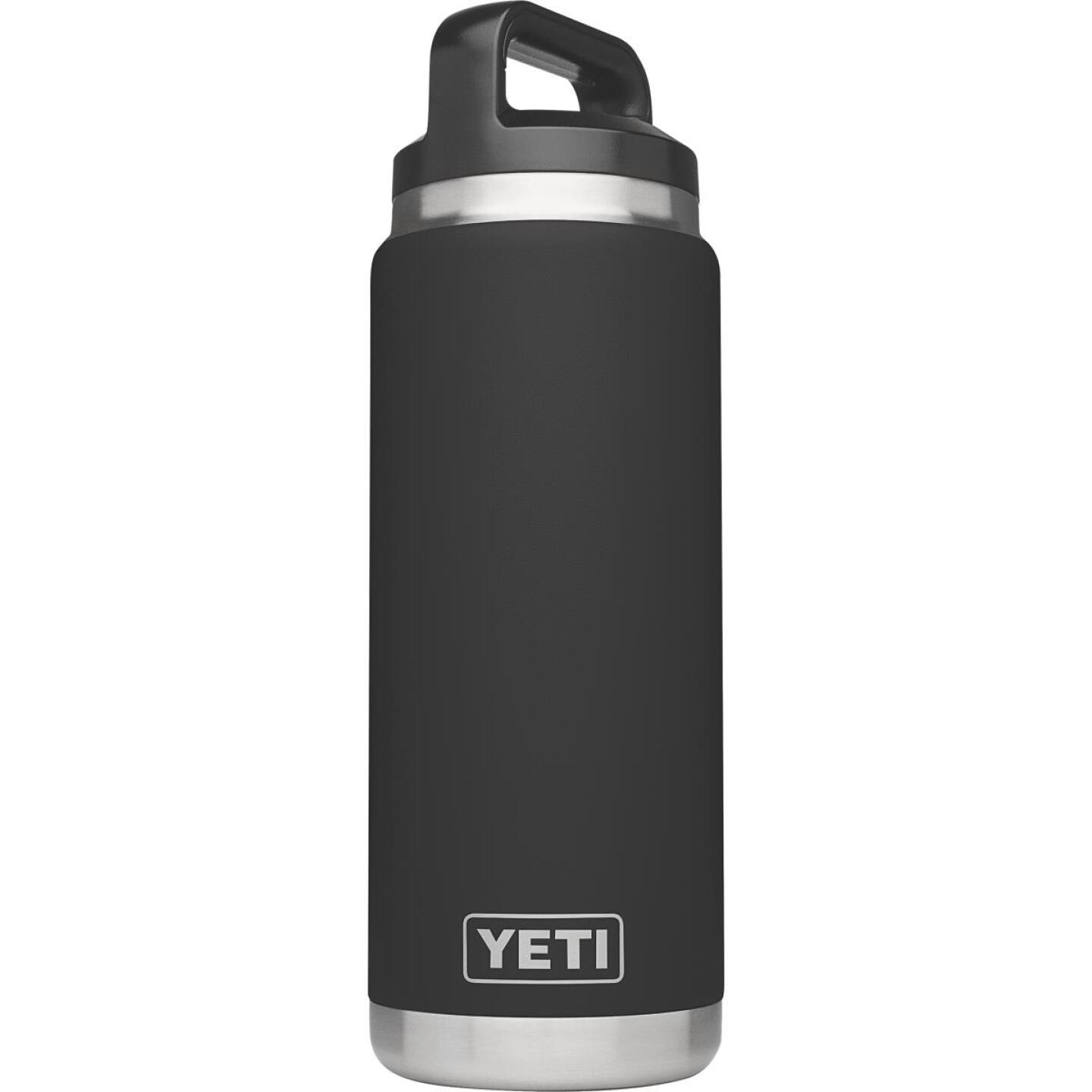 Yeti Rambler 26 Oz. Black Stainless Steel Insulated Vacuum Bottle Image 1