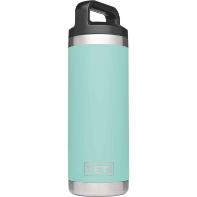 Yeti Rambler 18 Oz. Seafoam Stainless Steel Insulated Vacuum Bottle
