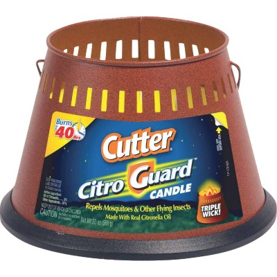 Cutter Citro Guard 20 Oz. 3-Wick Citronella Candle