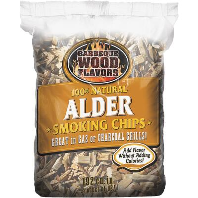 Barbeque Wood Flavors 2.25 Lb. Alder Smoking Chips