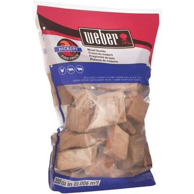Weber FireSpice 4 Lb. Hickory Smoking Chunks