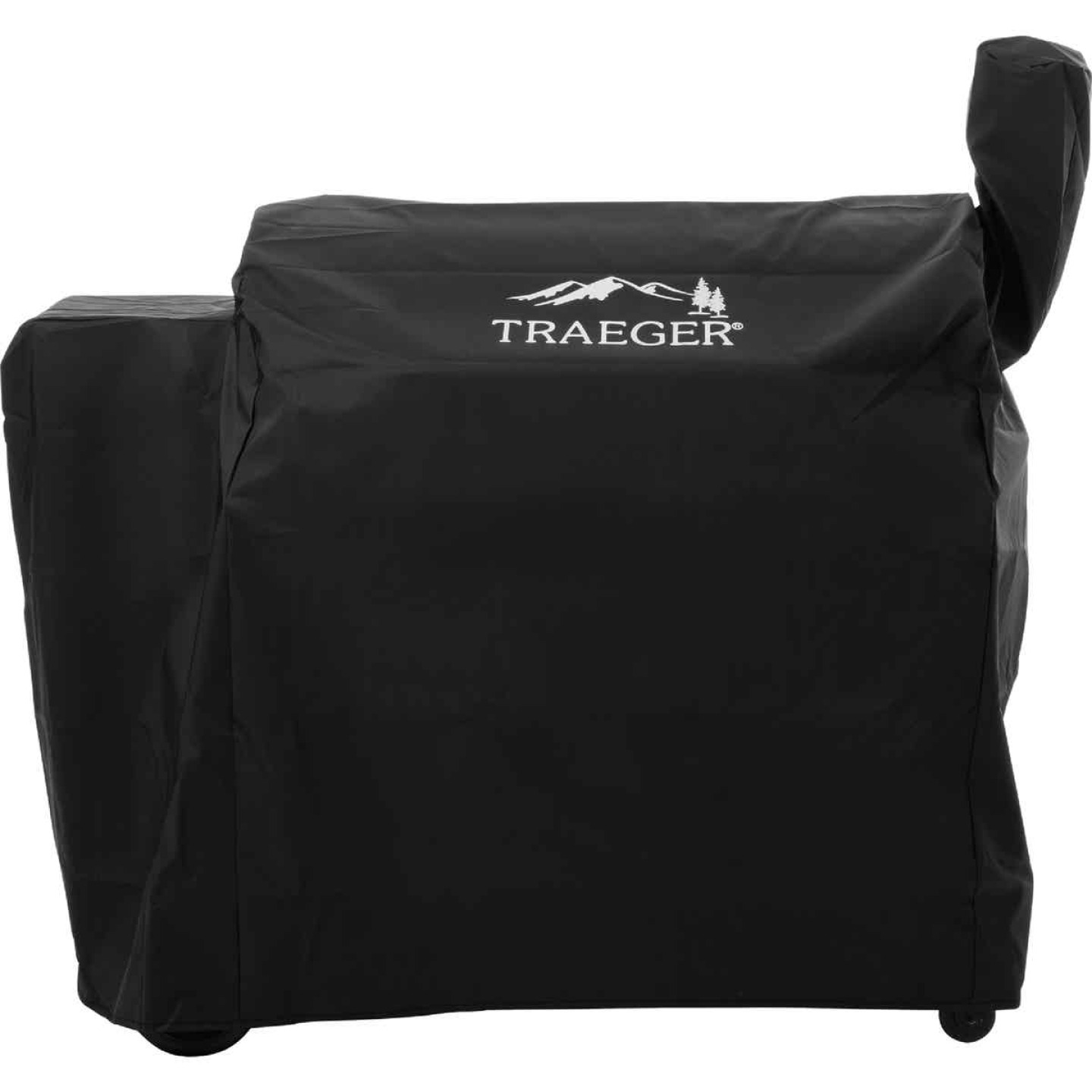 Traeger 34 Series 42 In. Black Polyester Full-Length Grill Cover Image 1