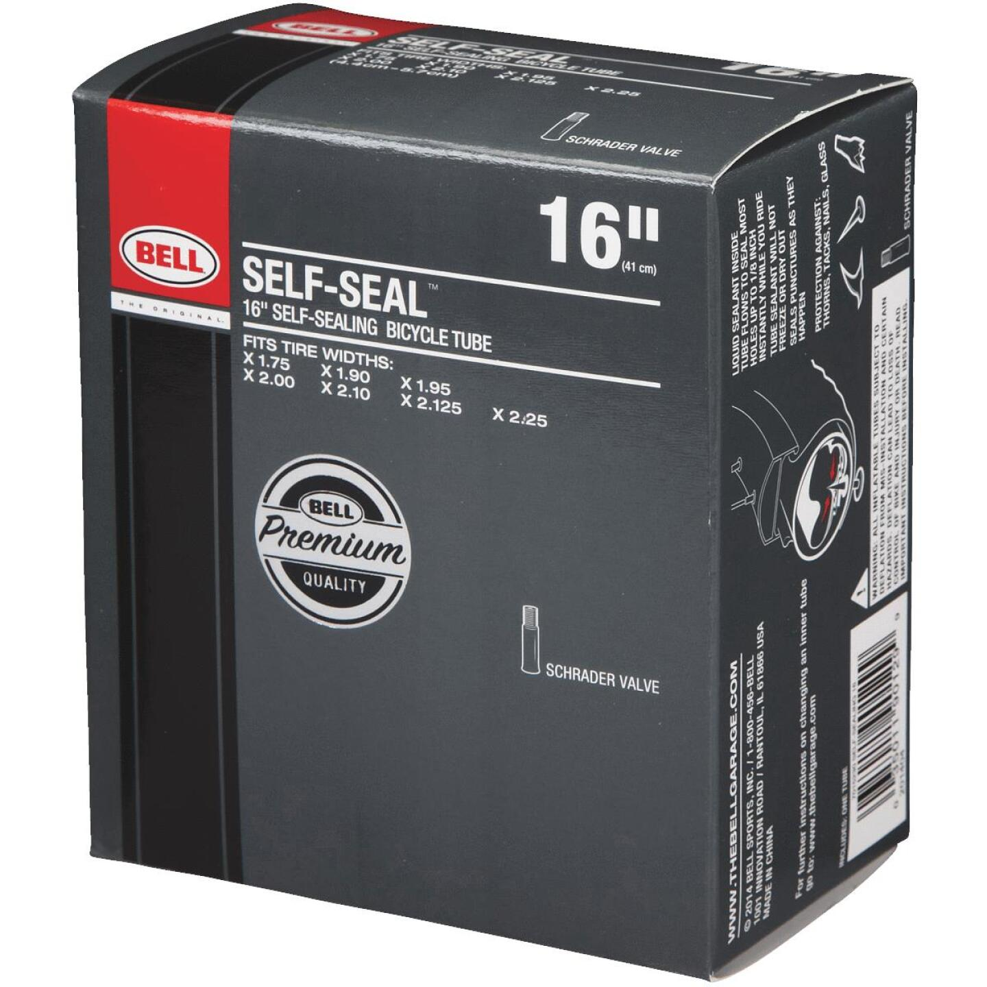 Bell Sports 16 In. Self-Sealing Bicycle Tube Image 3
