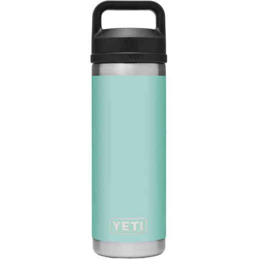 Yeti Rambler 18 Oz. Seafoam Stainless Steel Insulated Vacuum Bottle with Chug Cap