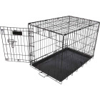 Petmate Aspen Pet 17 In. W. x 19.4 In. H. x 24.6 In. L. Heavy-Gauge Wire Indoor Training Dog Crate Image 1