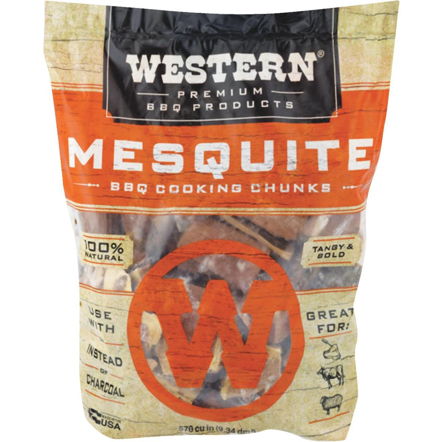 Western 6 Lb. Mesquite Wood Smoking Chunks Image 1