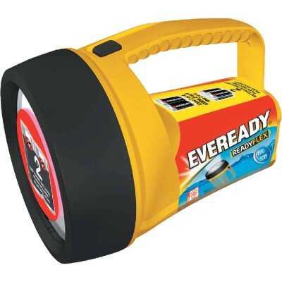 Eveready Readyflex 7.3 In. L. x 5.12 In. Dia. Yellow Plastic Utility LED Lantern