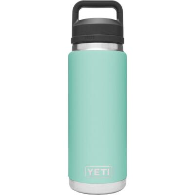 Yeti Rambler 26 Oz. Seafoam Stainless Steel Insulated Vacuum Bottle with Chug Cap