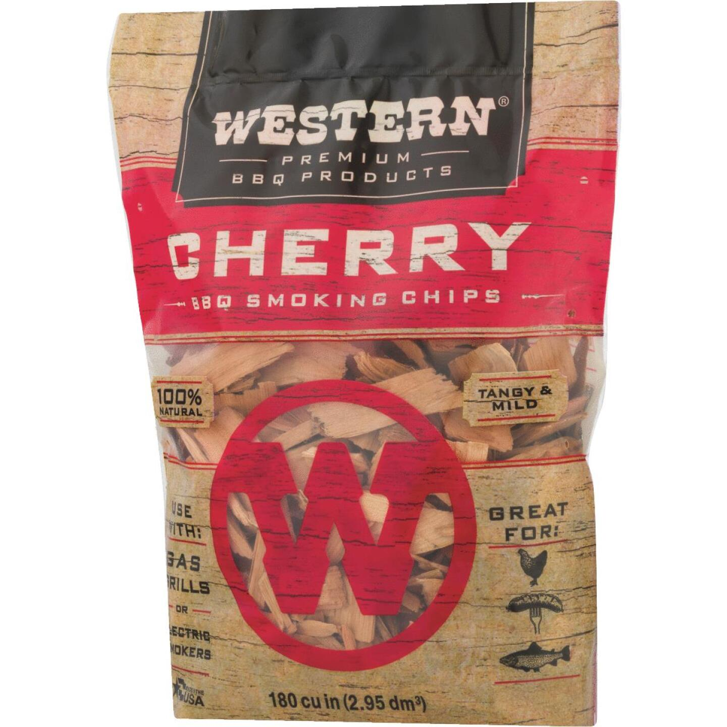 Western 180 Cu. In. Cherry Wood Smoking Chips Image 2