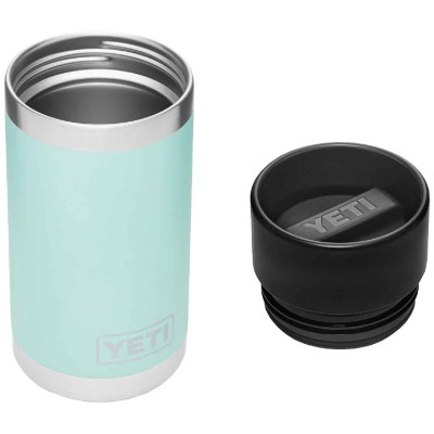 Yeti Rambler 12 Oz. Seafoam Stainless Steel Insulated Vacuum Bottle with Hot Shot Cap